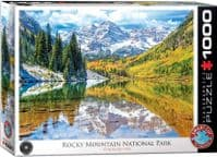 Rocky Mountain Nat Park - 1000 Pieces |Yorkshire Jigsaw Store